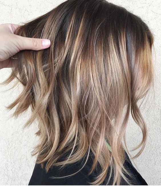 Beautiful Chocolate Blonde Hair For A New Look 2017 2018 Thin Hair Haircuts Hairstyles For Thin Hair Haircuts For Fine Hair