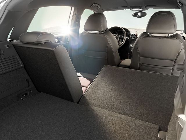 Audi A1 Sportback Interior Folding Rear Seats Audi A1 Audi A1