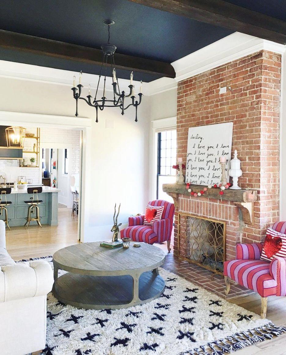 addisons wonderland   Home fireplace, Living room decor ...