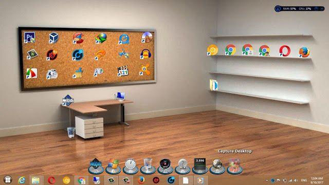 اجعل سطح المكتب عندك جميل 3d ومنظم Desktop Capture