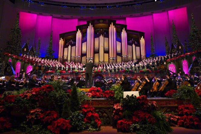 Lds Christmas Concert.The Mormon Tabernacle Choir Christmas Concert In The