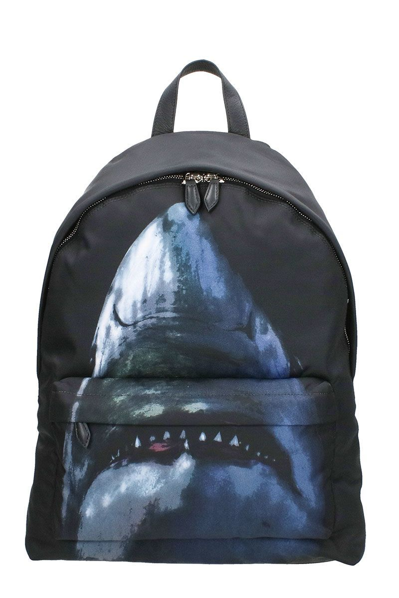 GIVENCHY SHARK PRINT BACKPACK.  givenchy  bags  leather  backpacks ... e7fbd6c4d031e