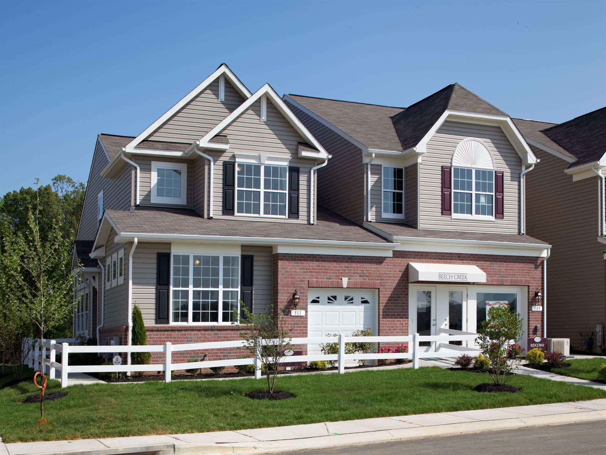 Calatlantic Homes Chatfield A Of The Marriott S Choice Villas Community In Randallstown Md New Homes For Sale Home New Homes