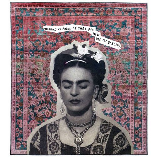 Most popular tags for this image include: art, frida kahlo, Frida ...