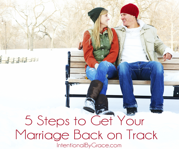 Getting your relationship back on track