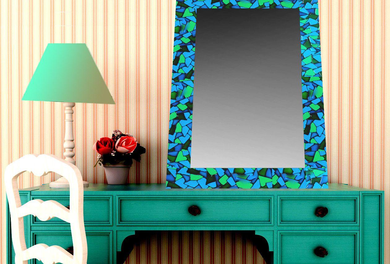 Espejos Vitral. Espejos Pintados a Mano. | Pinterest | Espejos ...