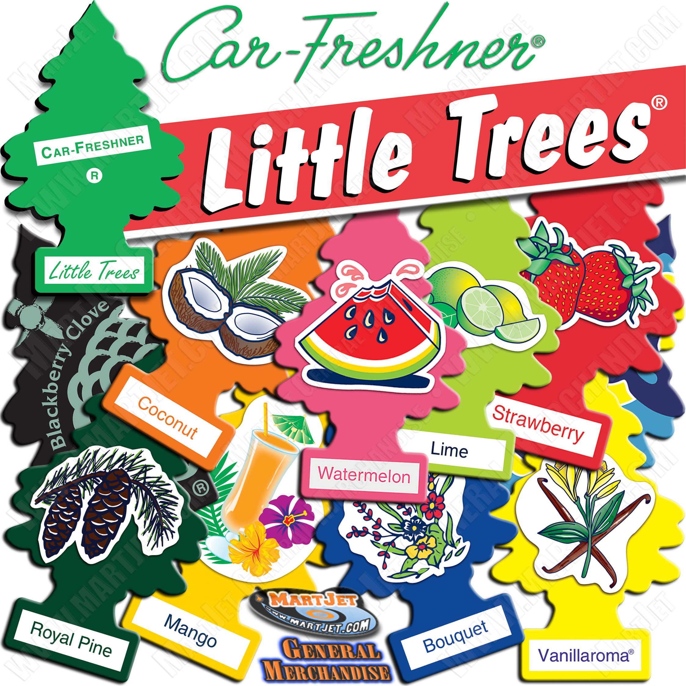 Car Fresheners to keep your vehicle smelling good and
