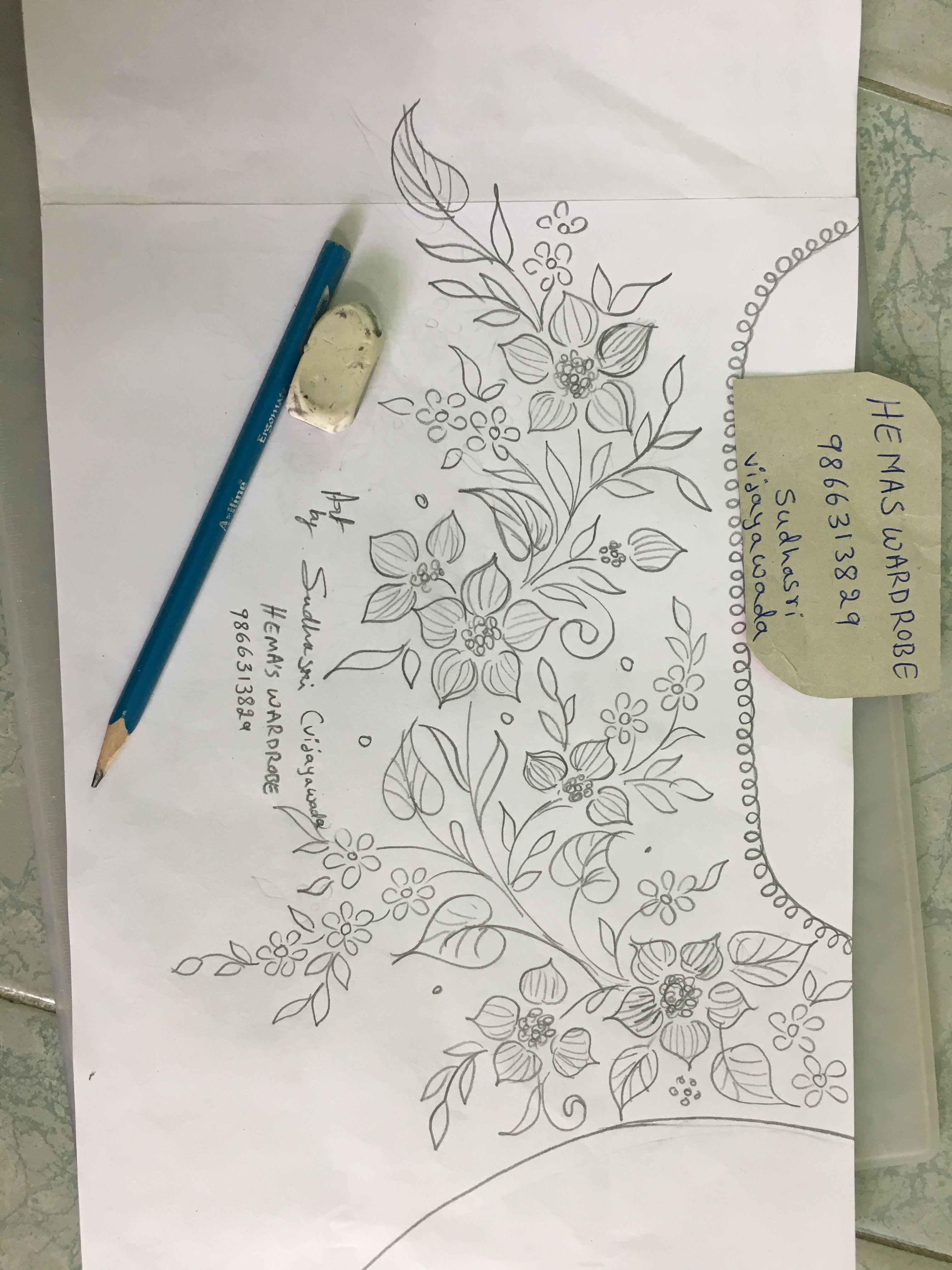 Sudhasri hemaswardrobe patterns pinterest embroidery hand