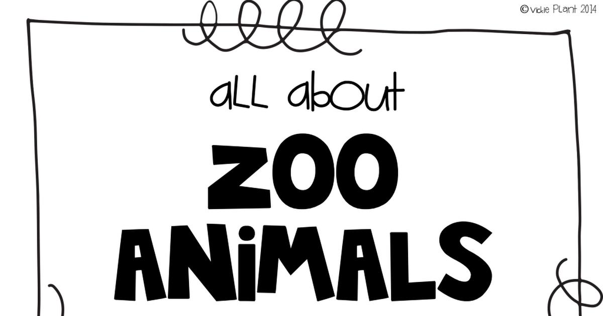zoo animal book.pdf Zoo animals, Zoo, Animals