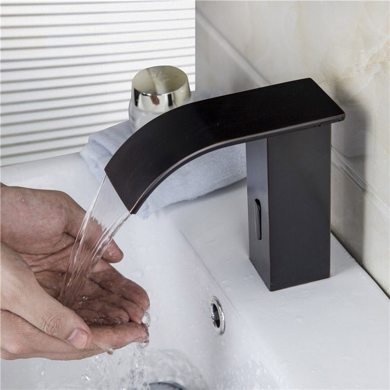 Milly Waterfall Electronic Automatic Sensor Bath Faucet Antique
