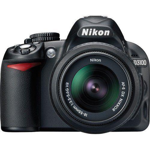 Nikon D3100 14.2MP Digital SLR Camera with 18-55mm f/3.5-5.6 AF-S DX VR Nikkor Zoom Lens (Import Model)