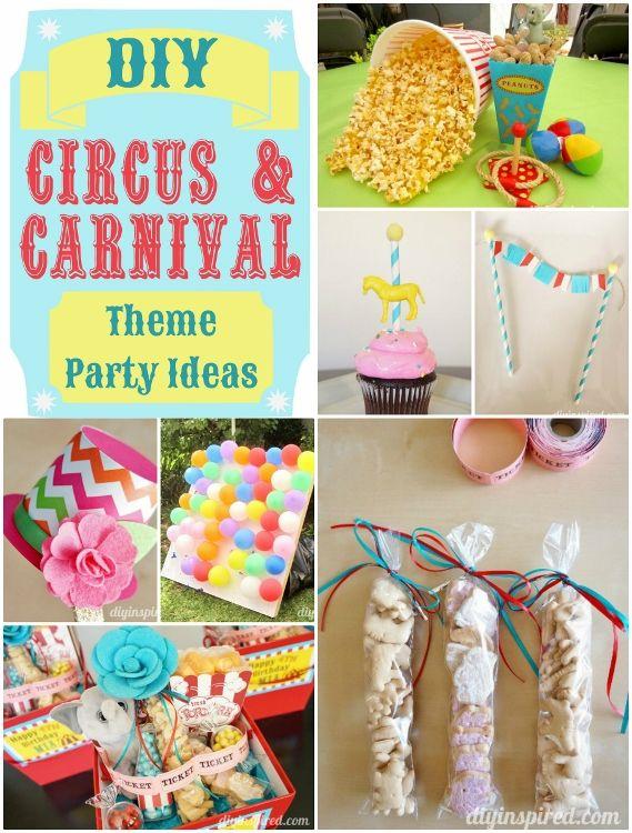 Diy Carnival Birthday Party Decorations  from i.pinimg.com