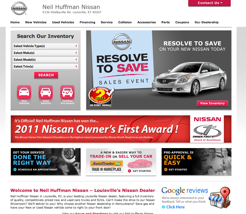 Neil Huffman Nissan >> Neil Huffman Nissan Neil Huffman Auto Group Louisville Kentucky