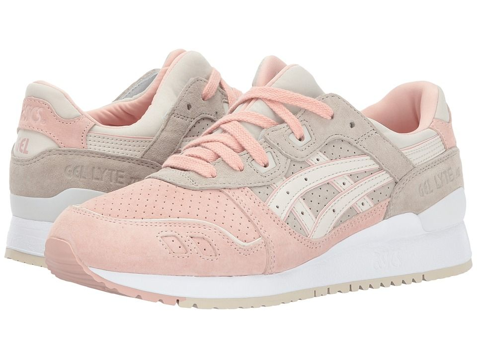 classic fit df54c 4f07e ASICS Tiger Gel-Lyte III Women's Shoes Feather Grey/Birch ...
