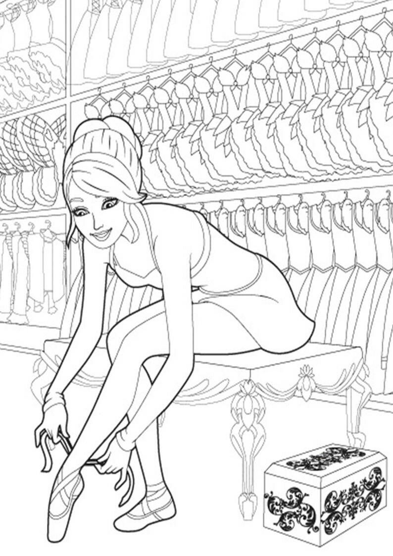Pin By Liefie Fernandes On Inkleur Barbie Coloring Color Activities Coloring Pages