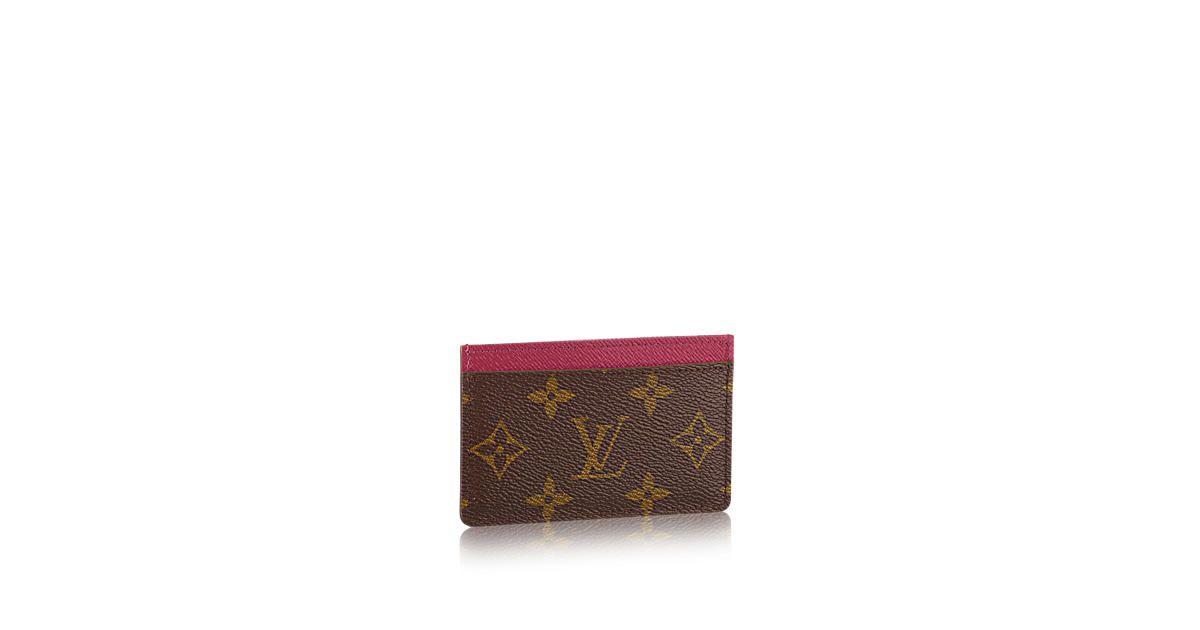 Card holder card holder monogram canvas louis vuitton