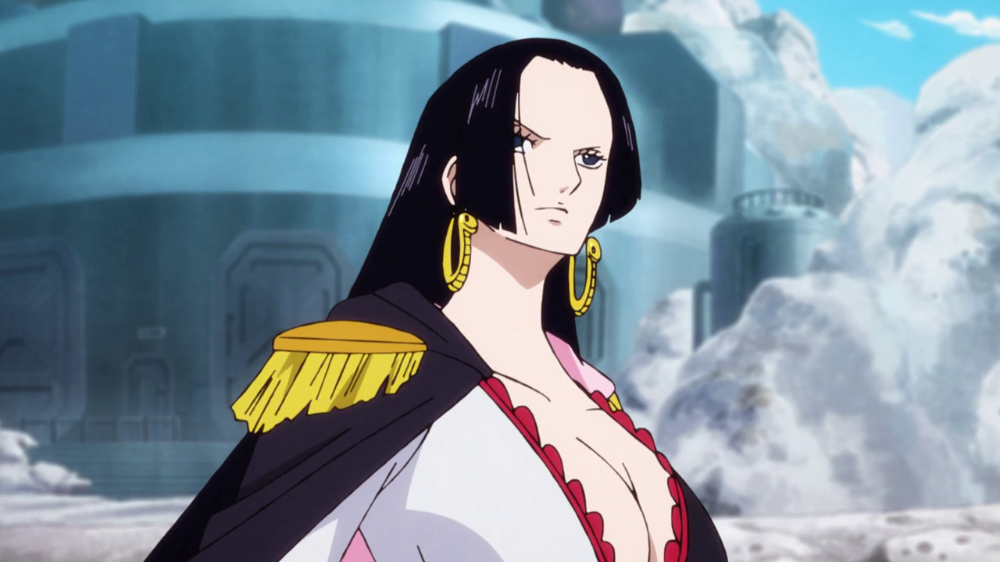 Download One Piece Boa Hancock Episodes Background Global Anime Luffy And Hancock One Piece Luffy One Piece
