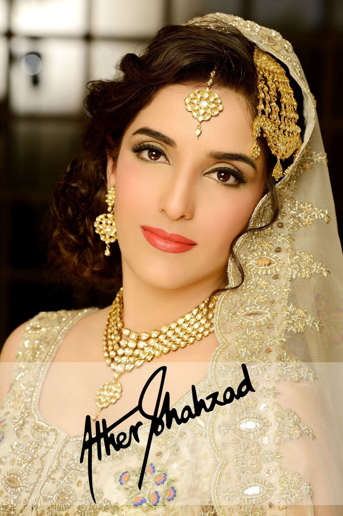 barat bride makeup and photography by ather shahzad | soft look