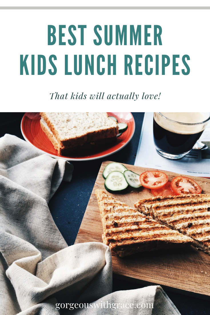 Easy Food Ideas for kids at home during the summer images