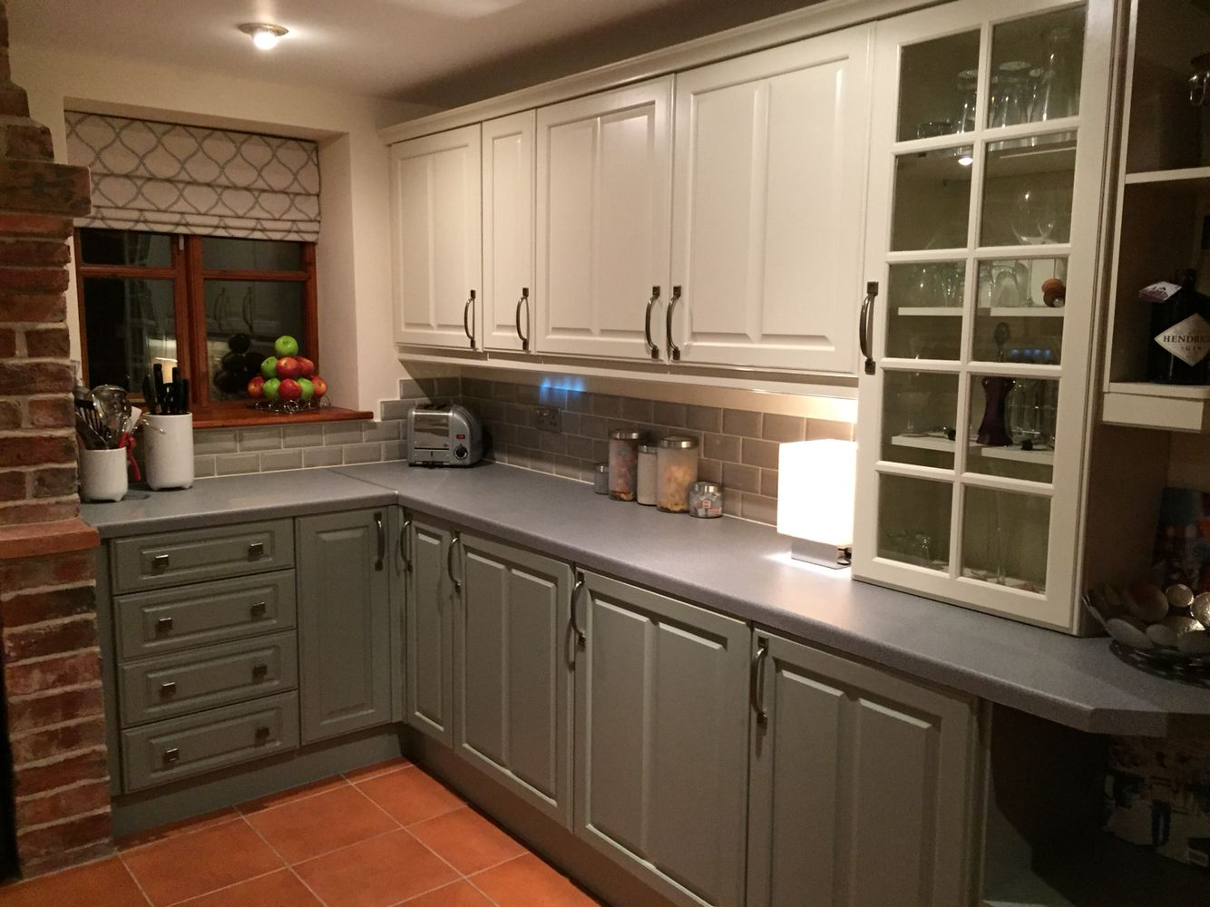 Best Farrow And Ball Pigeon And Lime White White Kitchen 640 x 480