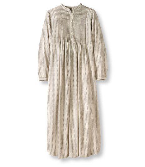 Women s Vintage Flannel Nightgown  576fb7ede