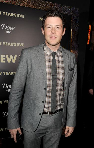 Cory Monteith Photos Photos The Red Carpet At The New Year S Eve