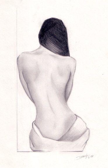 403 Forbidden Pencil Drawings Of Girls Pencil Drawings Back Drawing