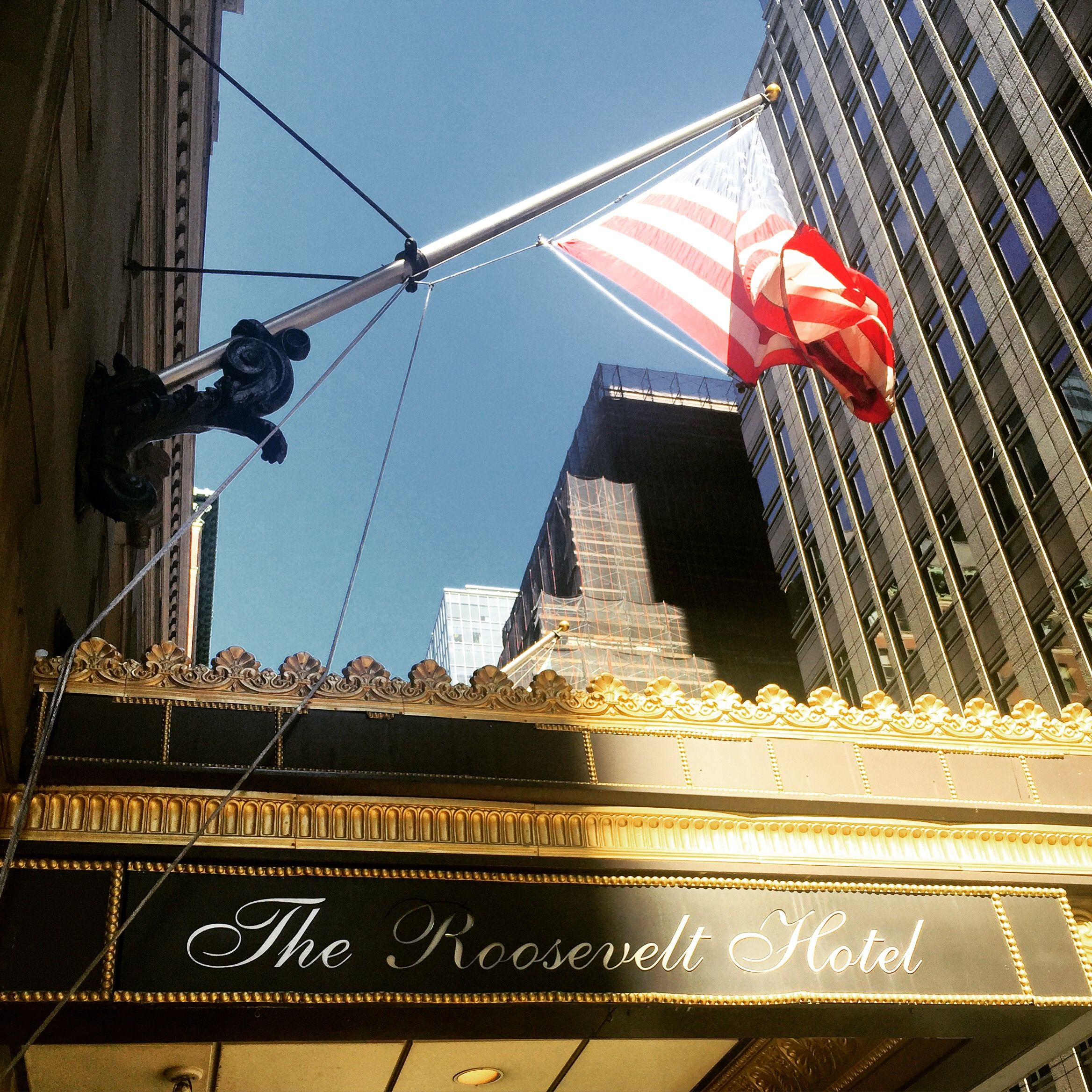 Good morning new york nyc hotels roosevelt hotel hotel
