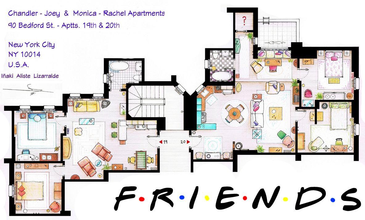 friends apartments <3