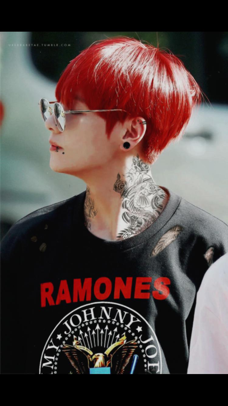 Tae And Jungkook Tattoo: Tae With Tattoos Is Bae ️