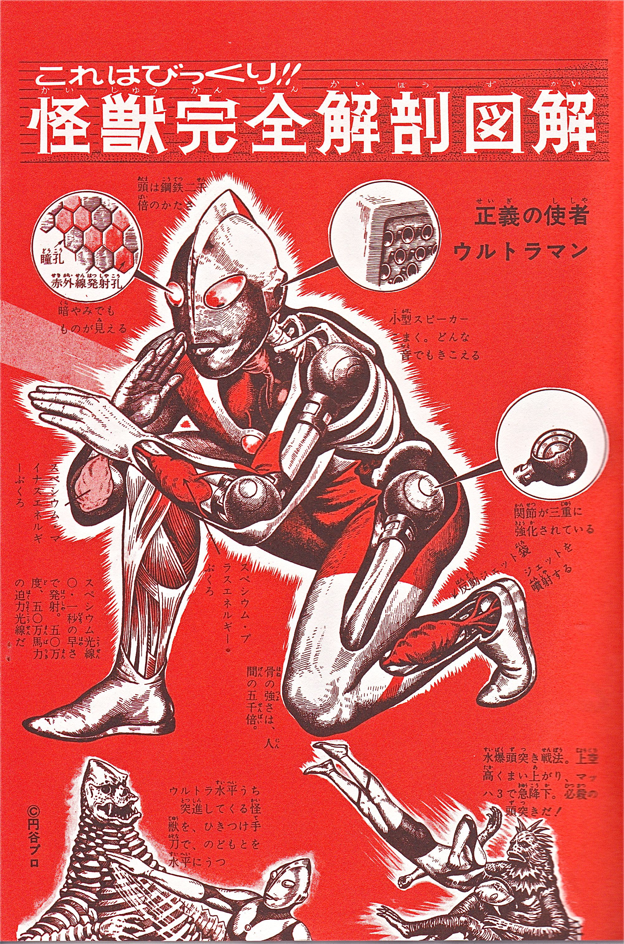 Inside ULTRAMAN, no wonder he\'s so strong! | Godzilla | Pinterest ...