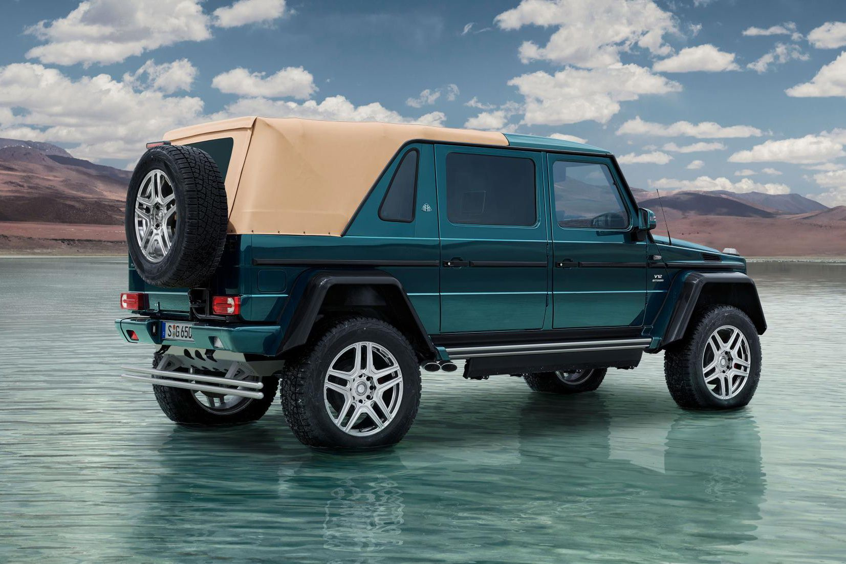 Check Out The Mercedes Maybach G650 Landaulet Mercedes Maybach