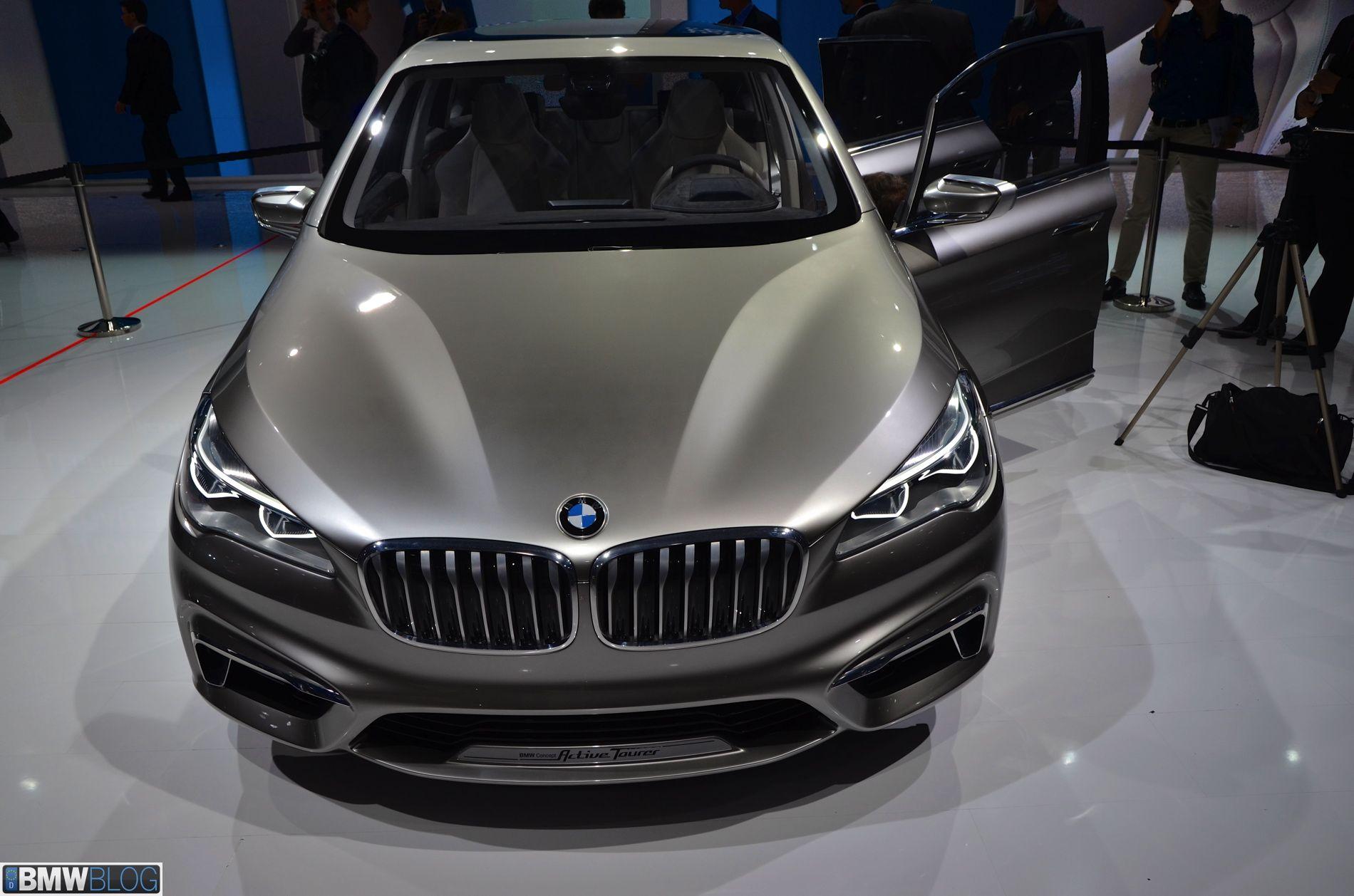 BMW Concept Active Tourer Hybrid · Bmw New ModelsBmw ConceptBmw CarsModel  ...