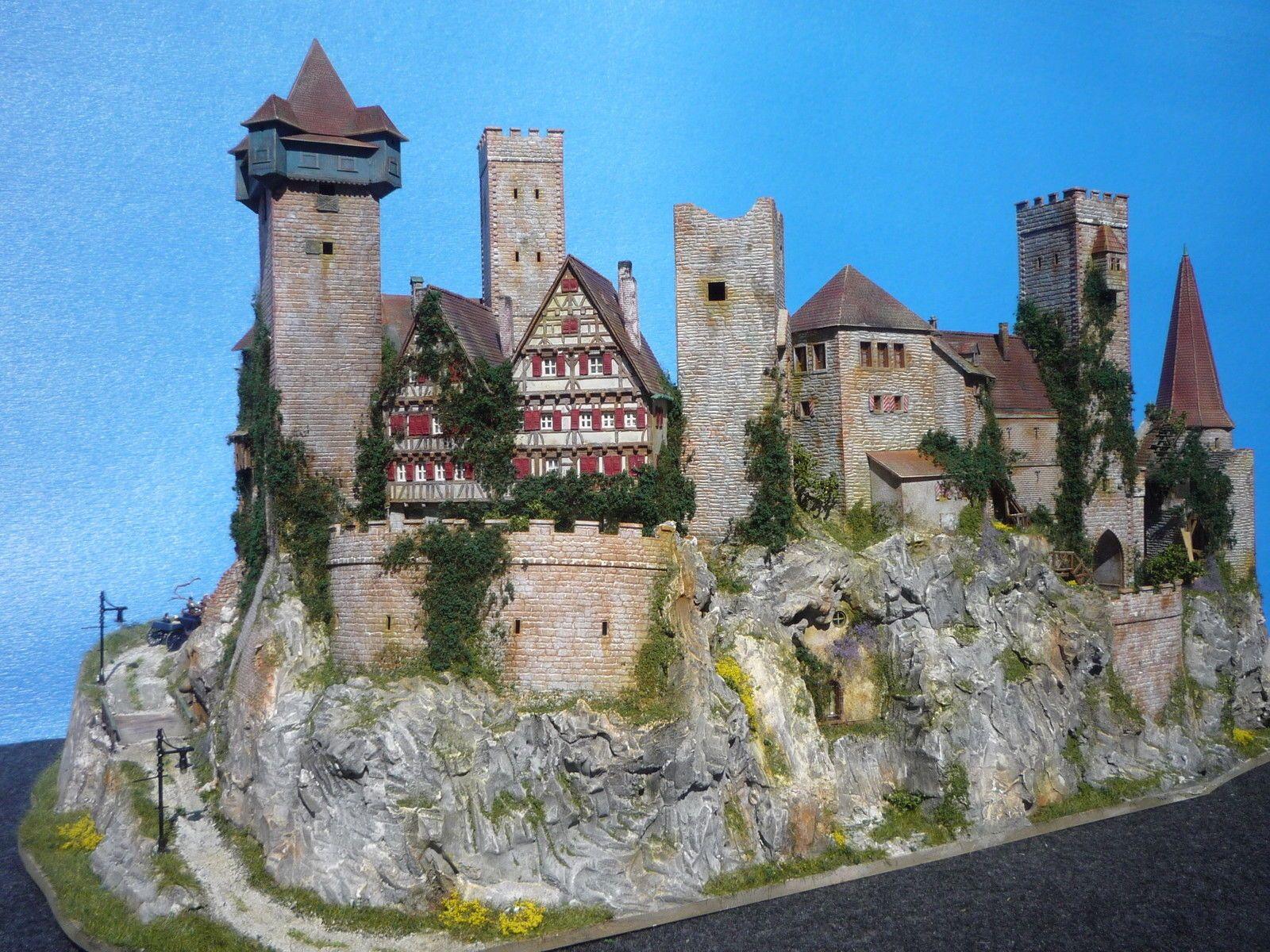Diorama Castle Burg Schloss Elbenwald Patiniert Beleuchtung Kutsche Ebay Ca Ins 1 Diorama Dioramen Burgen Und Schlosser