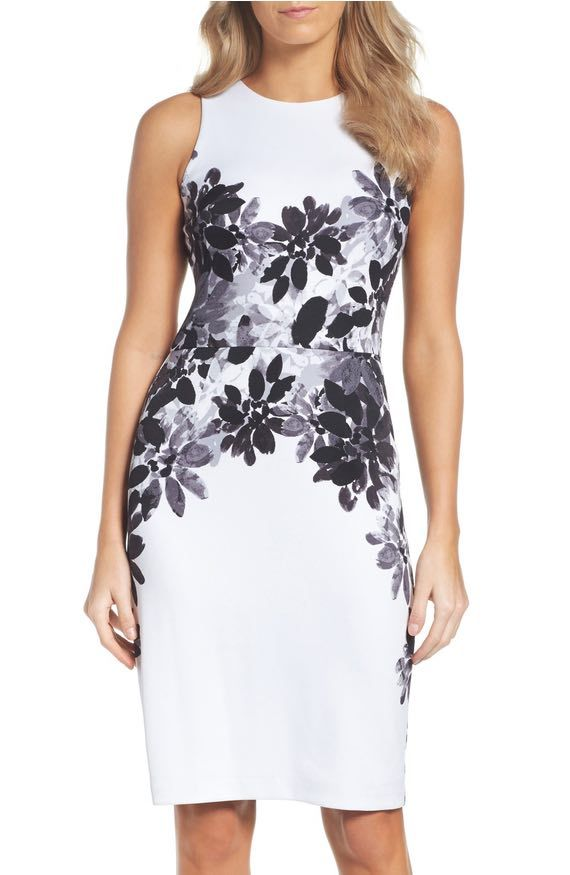 Maggie London Scuba Dress