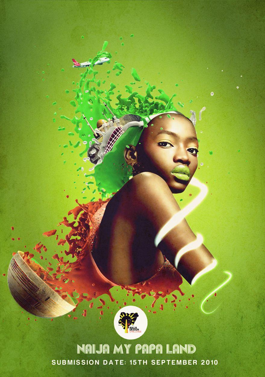 Poster design challenge - Naija Design Challenge Poster Designer Daniel Emeka