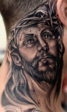 Jesus Tattoos For Men : jesus, tattoos, Jesus, Tattoos, Gallery