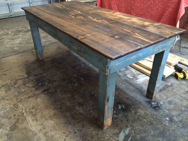 Awesome Craigslist Farm Table 300 With Images Rustic Dining Home Decor