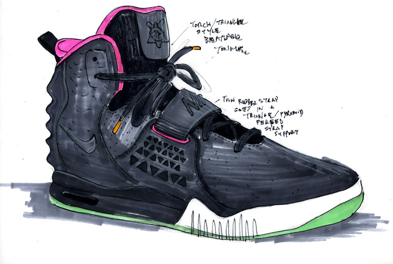 Kanye West Nike Air Yeezy | Creative Boys Club » Nike Air Yeezy 2 by Kanye