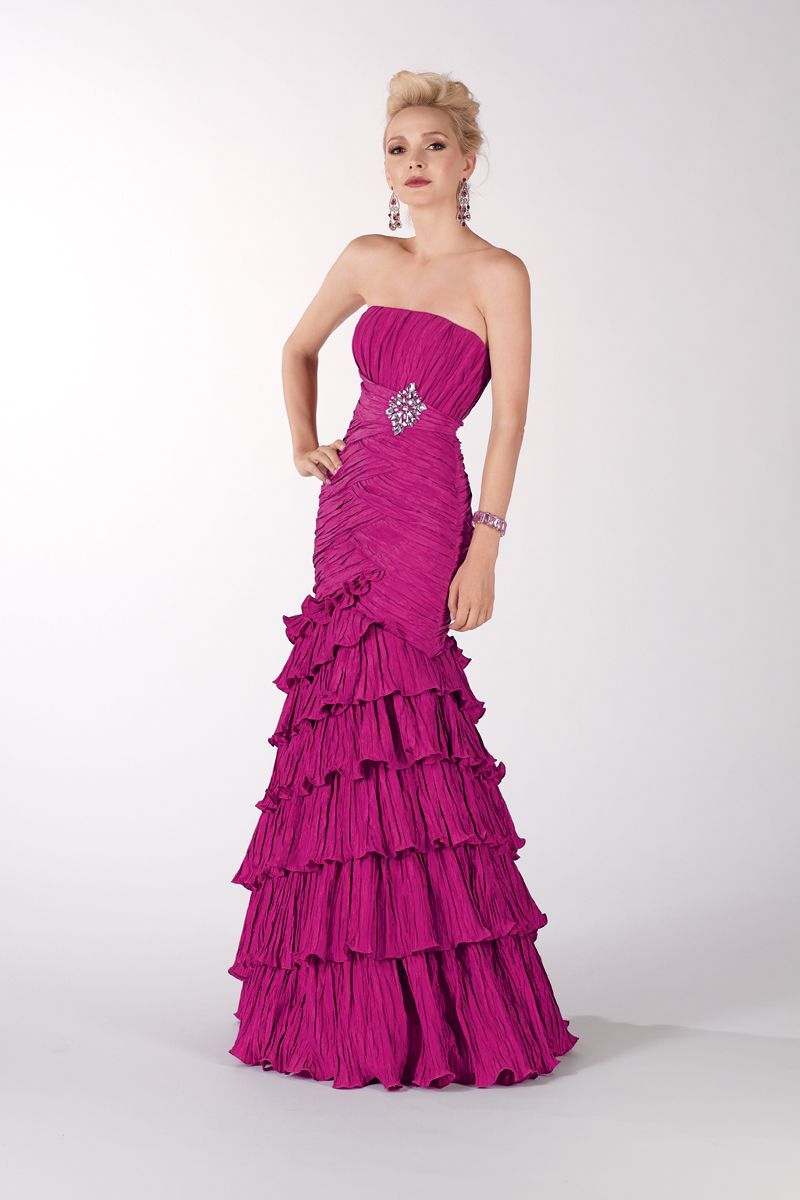 Prom dress evening dress by black label sleek and smooth no