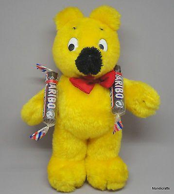Haribo Gummi Bear Teddy Plush 25 cm Mascot Goldbaren 1996 Germany Seam Tag Gummy | Dolls & Bears, Bears, Other Plush Bears | eBay!