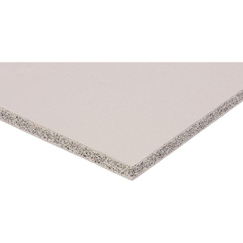 Plaque De Ciment Ba 13 H 100 X L 120 Cm Hydro Feu Phonique Ce Fermacell Leroy Merlin En 2020 Plaque De Ciment Ciment Ba13