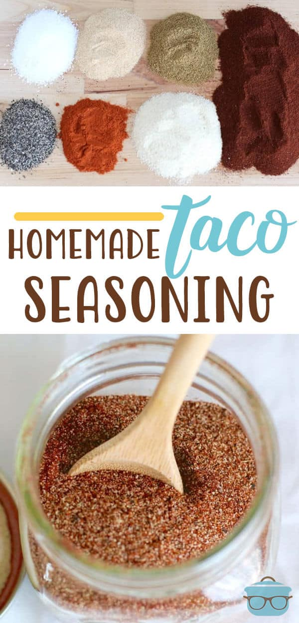 EASY HOMEMADE TACO SEASONING | The Country Cook