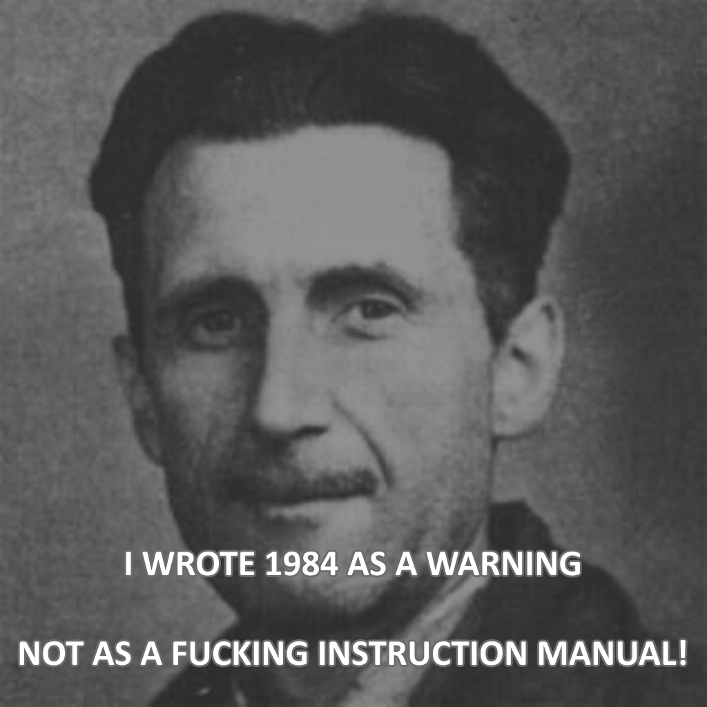 How The Warnings Of George Orwell s Novel Remain Relevant     Broadway World