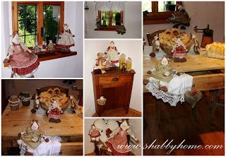 Shabby Home: Le mie mucche, My cows