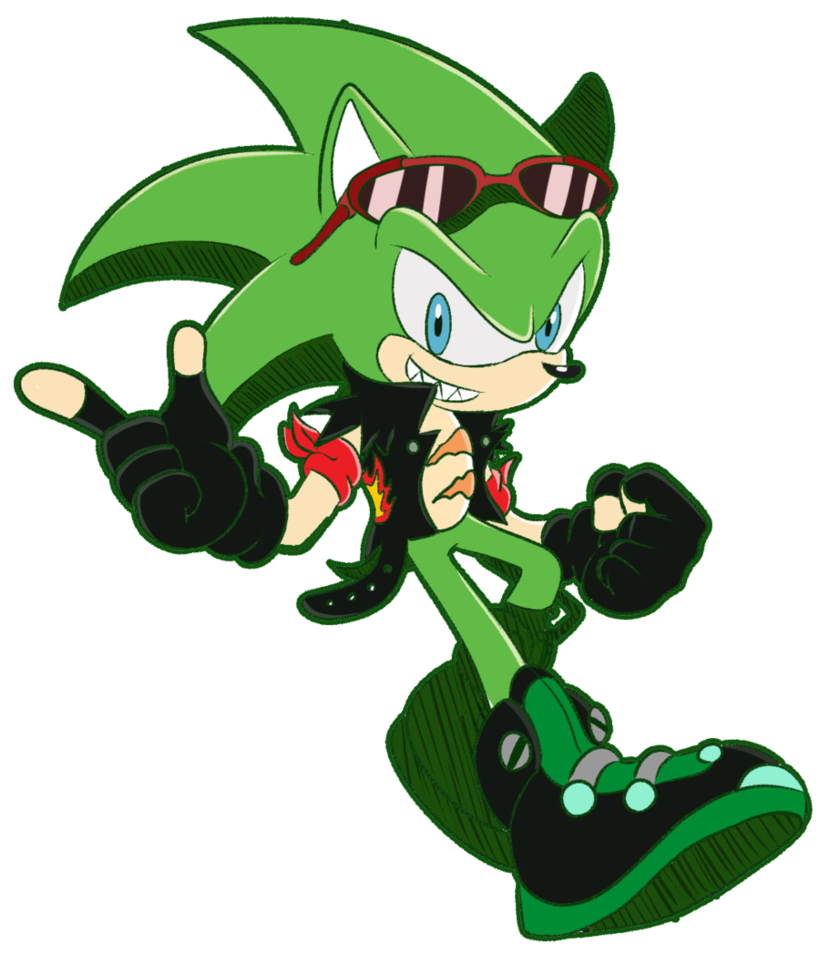 scourge the hedgehog favourites by goldenthecat on DeviantArt