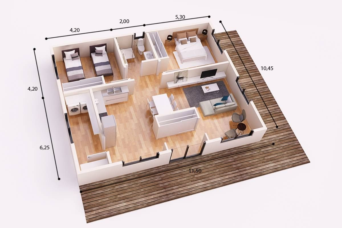 Facebook planos casas planos de casas y planos for Casa minimalista 90m2