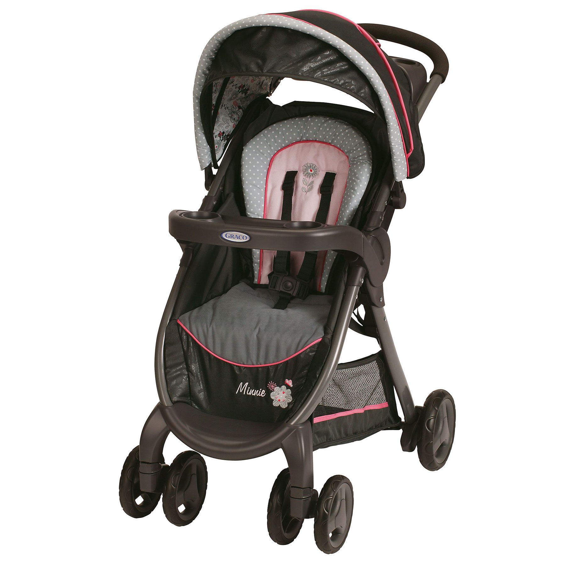 Minnie s Garden Premier FastAction™ Fold Connect™ Stroller from Graco