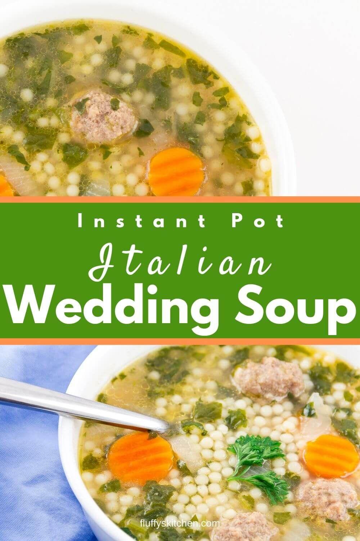 Instant Pot Italian Wedding Soup Recipe Easy soup