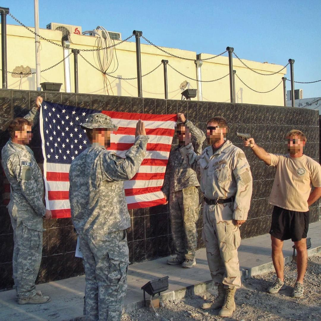 U.S. Army Special Forces soldier reenlisting in Tarin Kowt ...